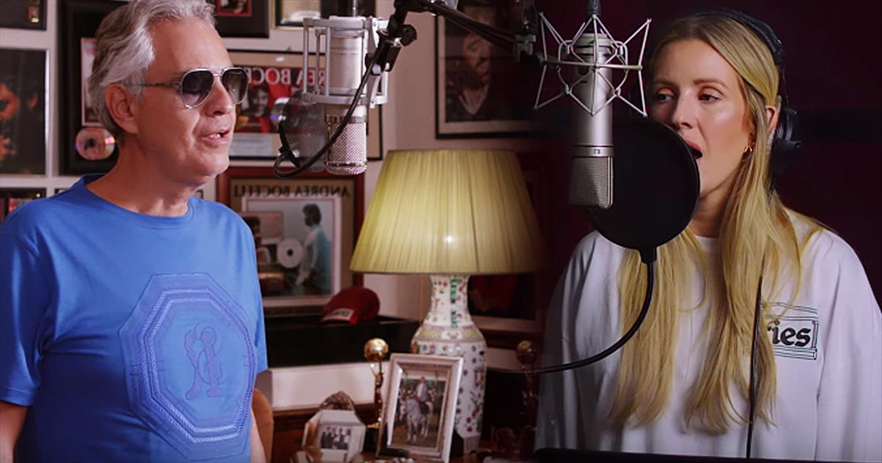 Andrea Bocelli And Ellie Goulding Share The Making Of 'Return To Love'