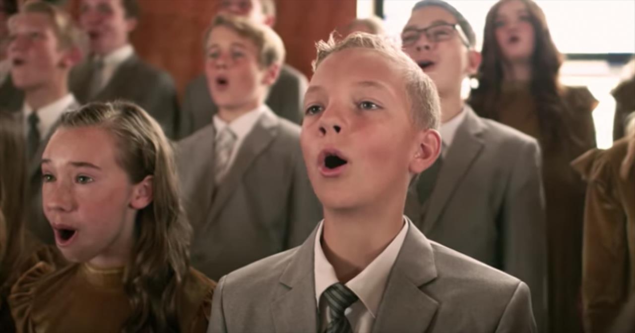 'Thankful' Josh Groban Cover From Rise Up Children's Choir