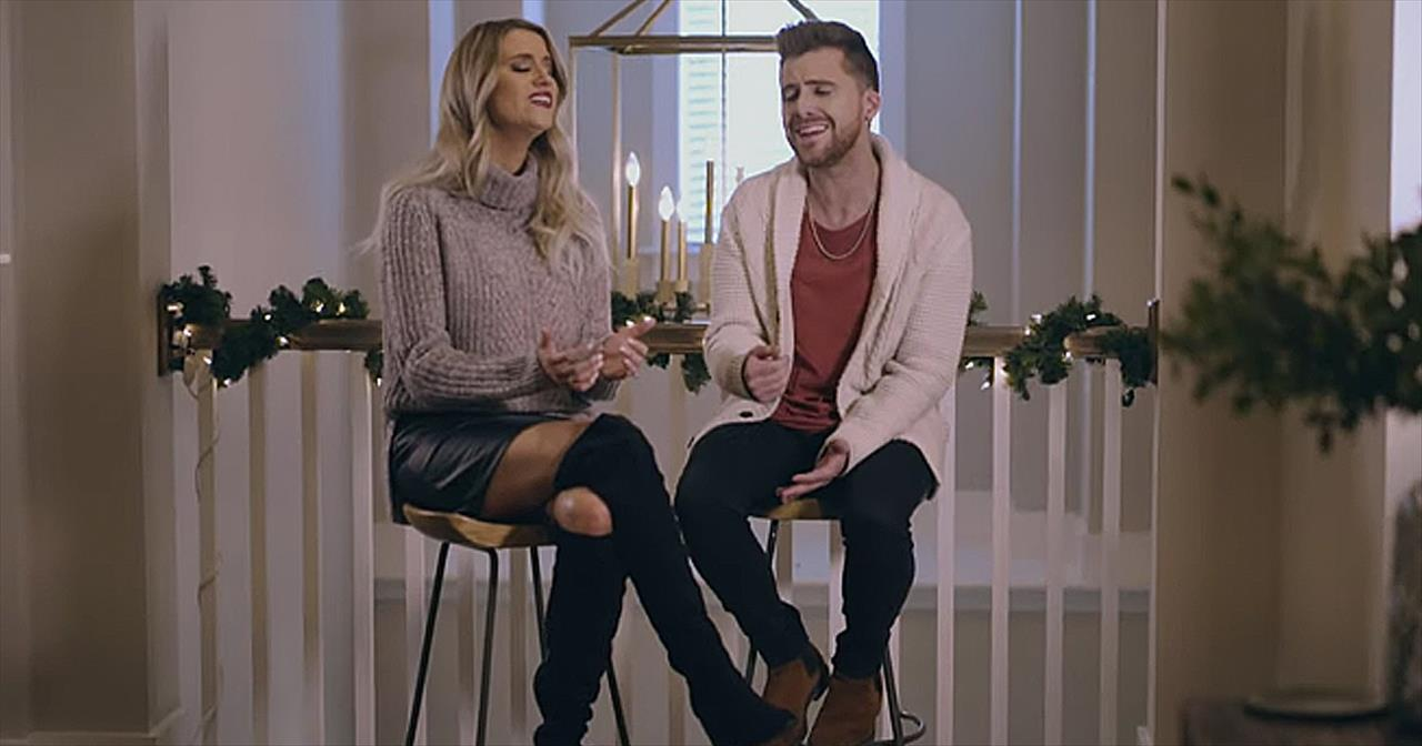 Husband And Wife Perform Christmas Amazing Grace Christian