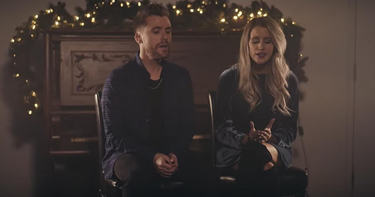 Husband And Wife Sing 'Silent Night'