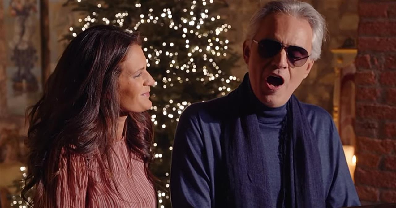 Andrea Bocelli Surprises Wife With Christmas Serenade Of 'Return To Love'
