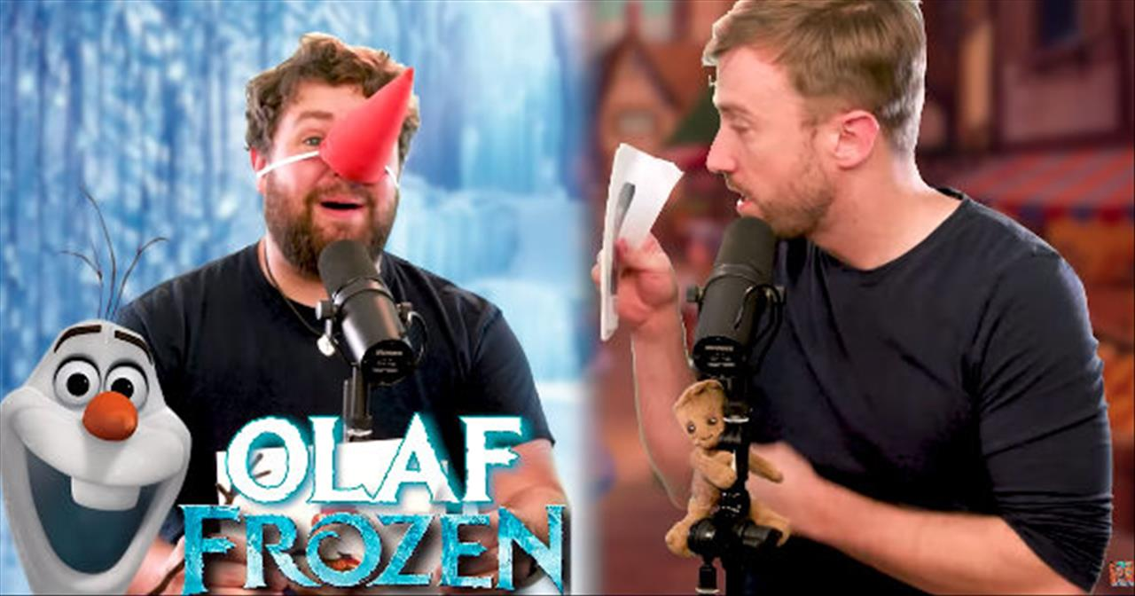36 Disney Characters Sing 'Let It Go' From Frozen