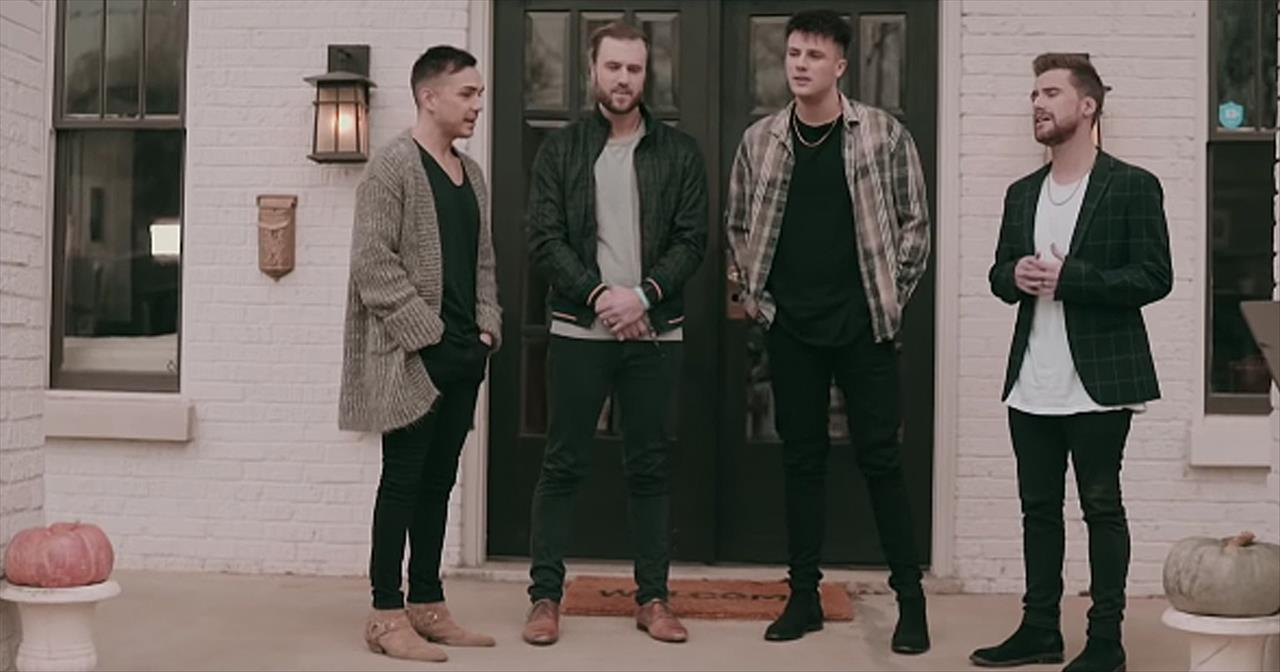 4 Men Of Anthem Lights Sing Can T Help Falling In Love By Elvis
