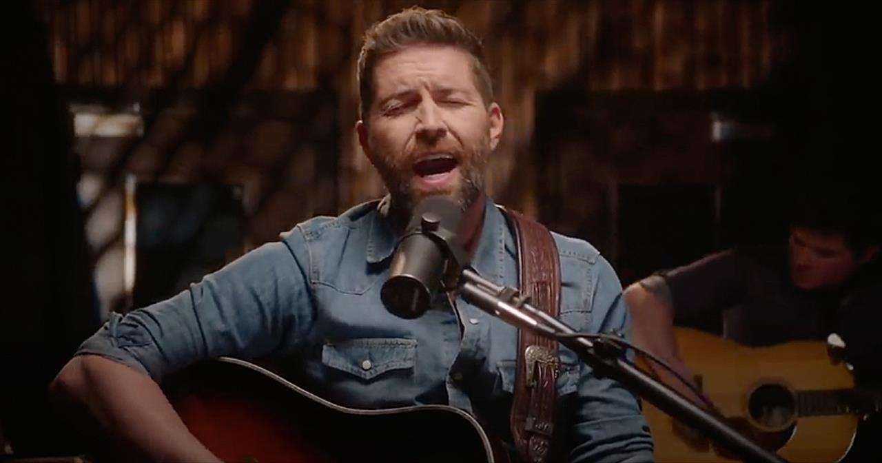 'I Serve A Savior' Josh Turner Official Acoustic Video