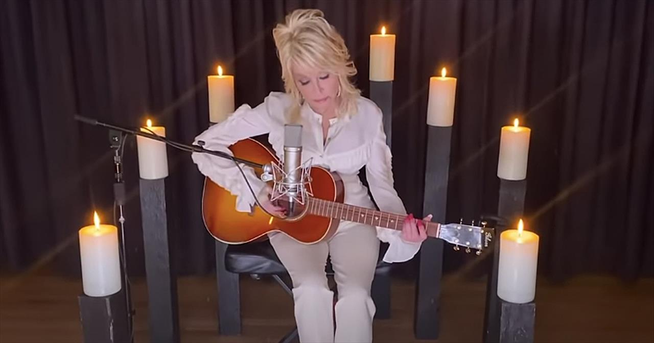Dolly Parton Performs 'Sweet Music Man' To Honor Late Kenny Rogers