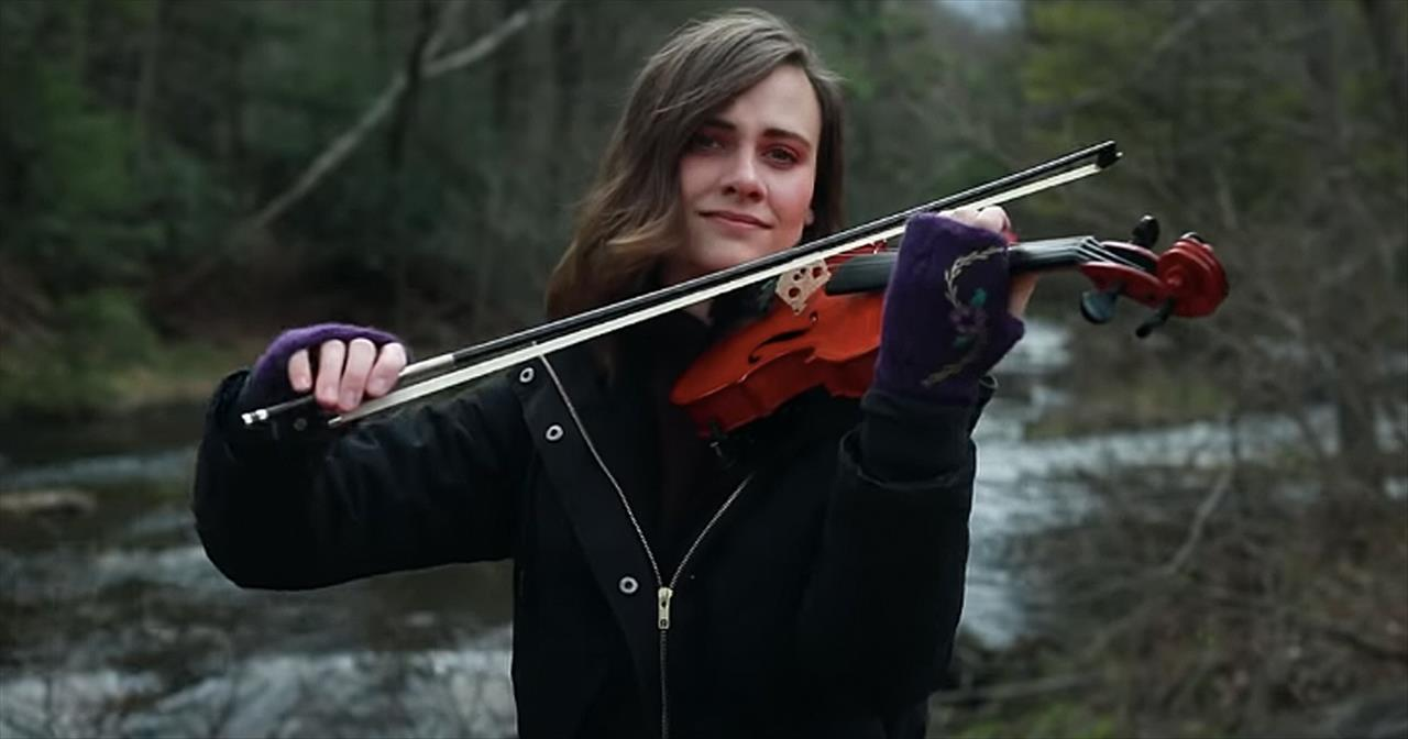 'You Raise Me Up' Violin Cover From Taryn Harbridge