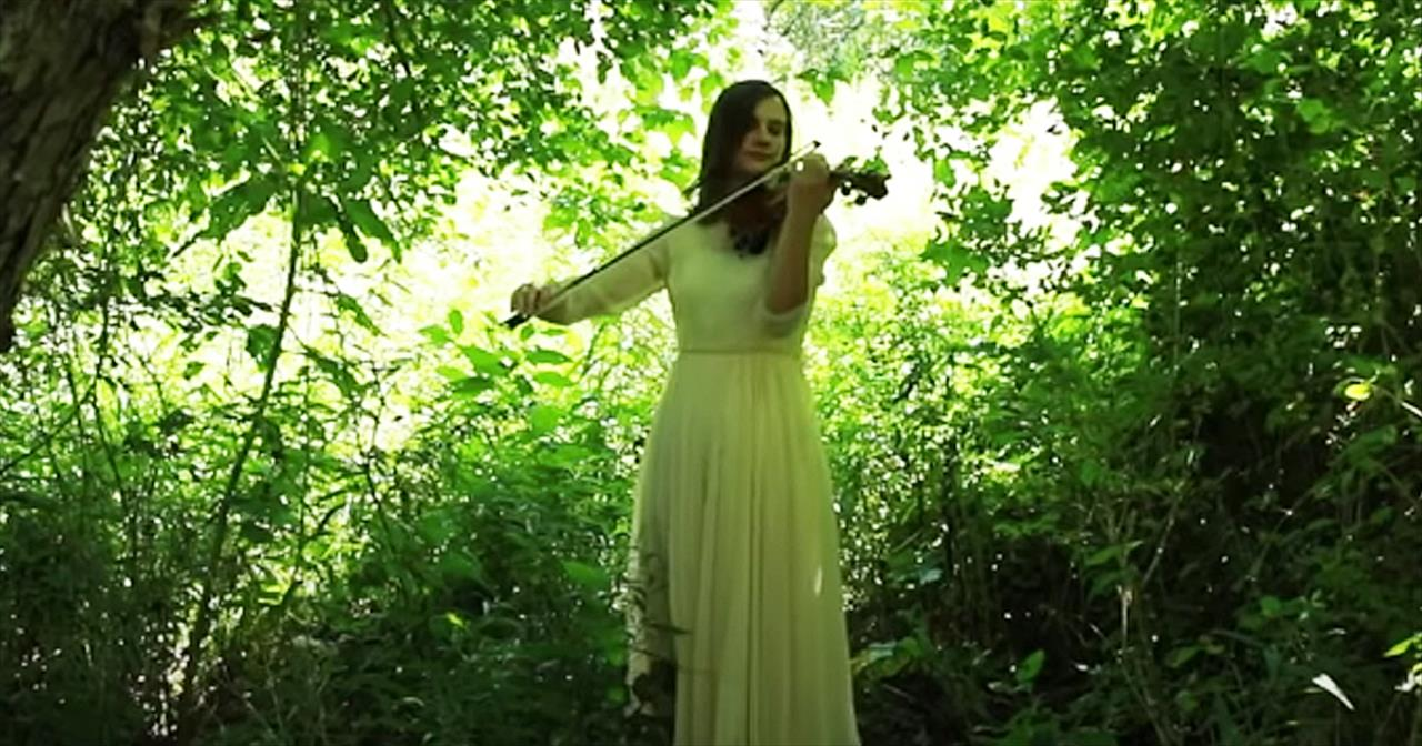 Violin Performance Of 'This Is My Father's World' From Taryn Harbridge