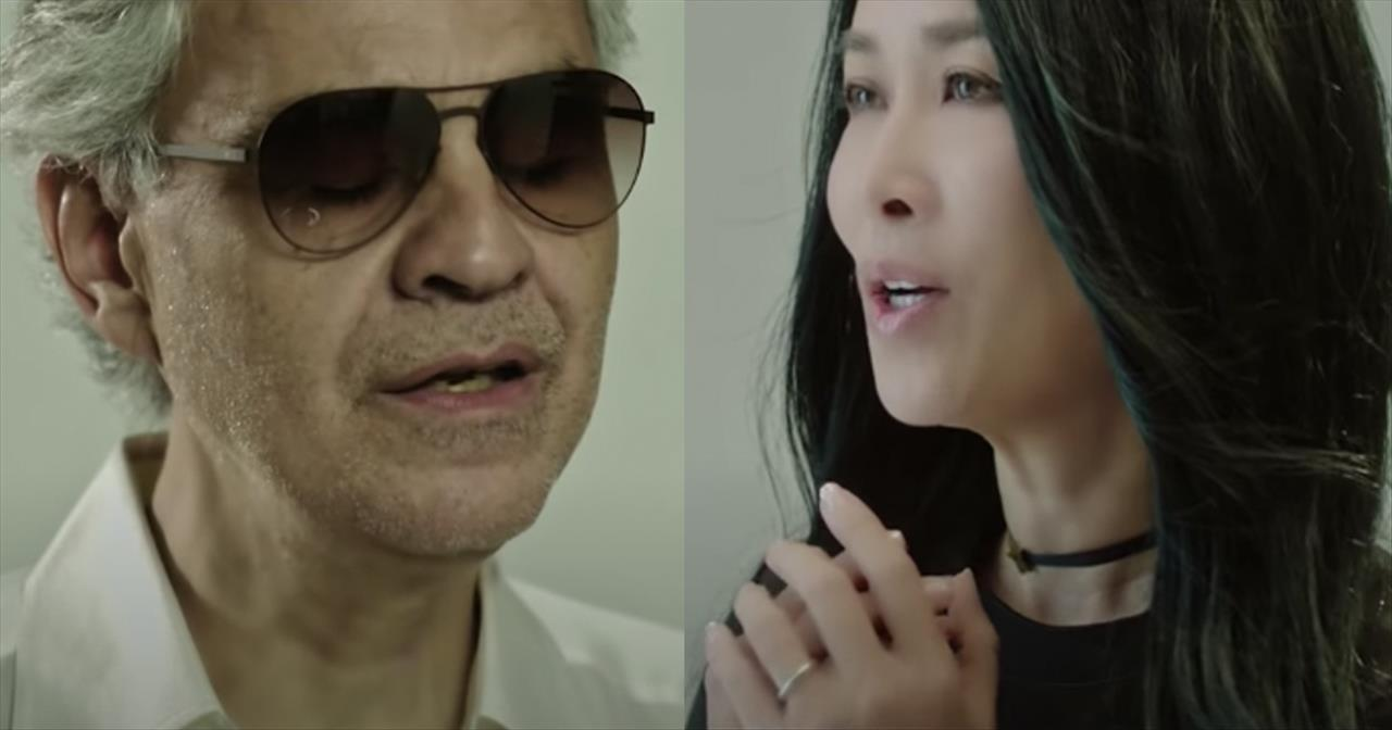 'Remembering' Duet From Andrea Bocelli And Na Ying