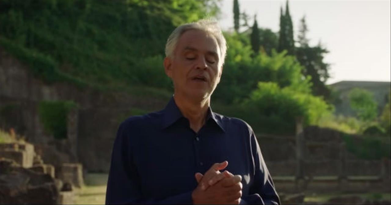 Andrea Bocelli And Paolo Buonvino Perform 'Gratia Plena' From 'Fatima' Movie