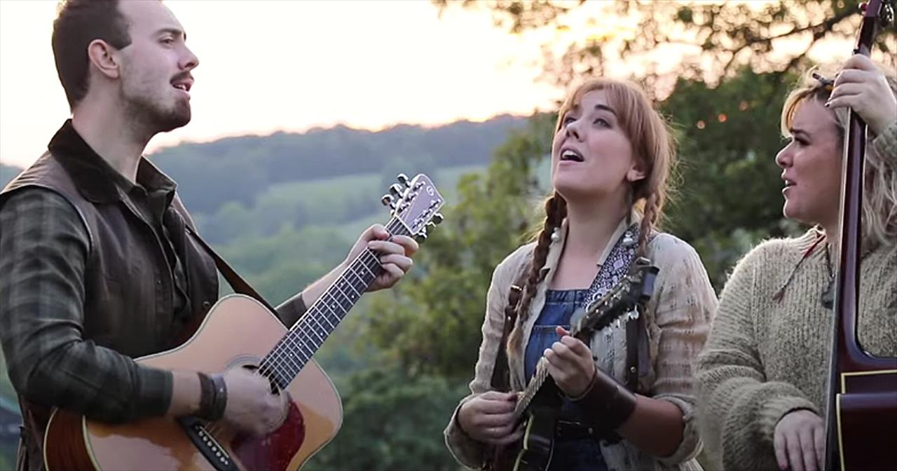 'Take Me Home, Country Roads' Bluegrass Performance From Southern Raised