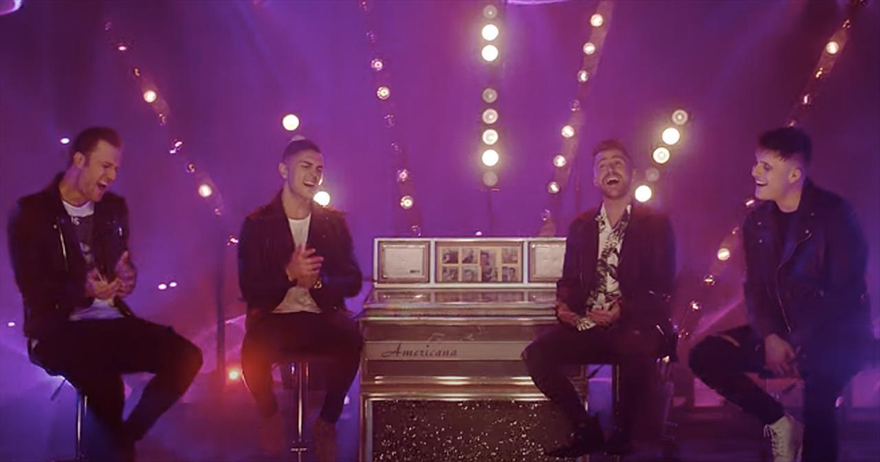 Nostalgic Elvis Medley From The 4 Men Of Anthem Lights