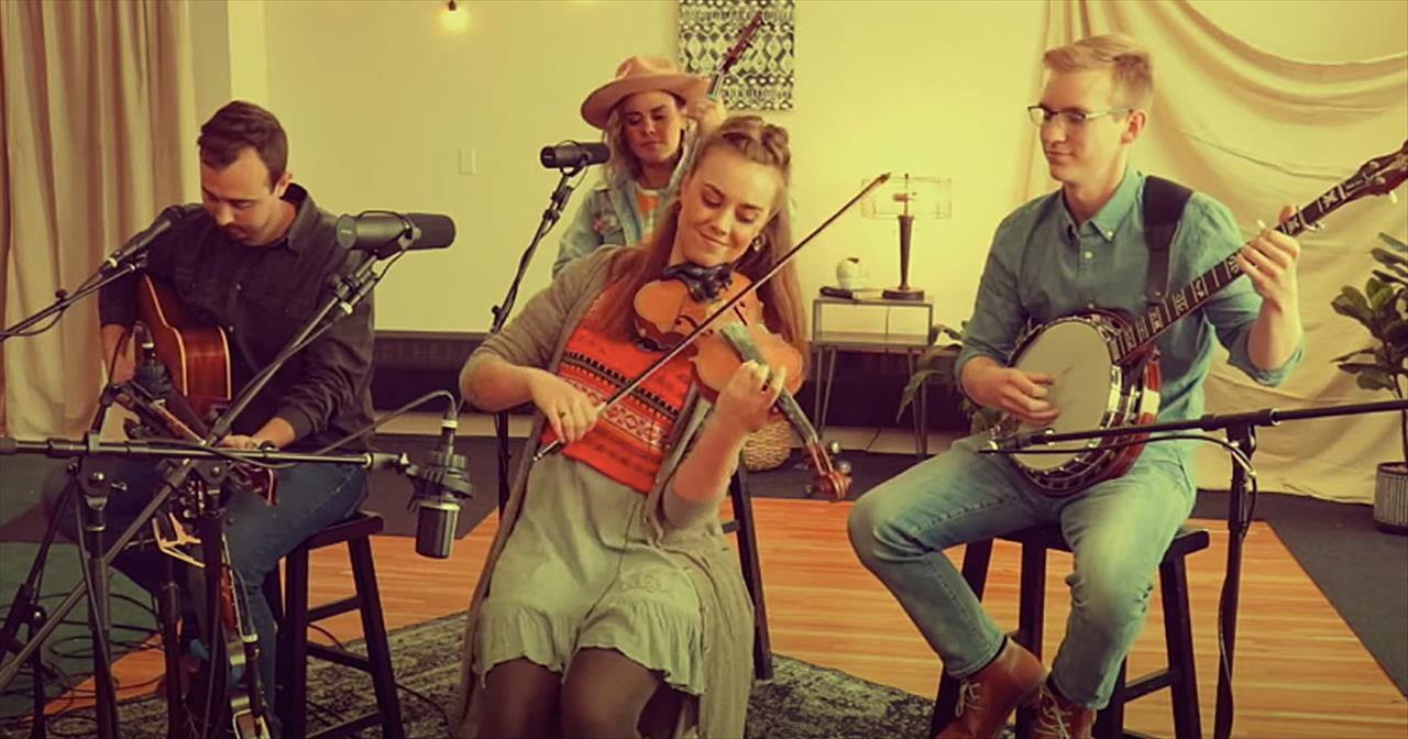Southern Raised Bluegrass Band Performs 'Orange Blossom Special'