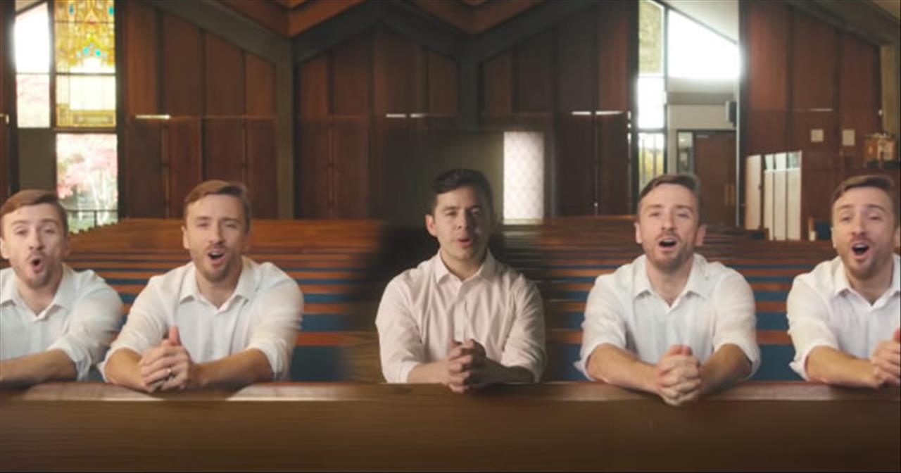 'It Is Well' A Cappella Duet From Peter Hollens And David Archuleta In Church