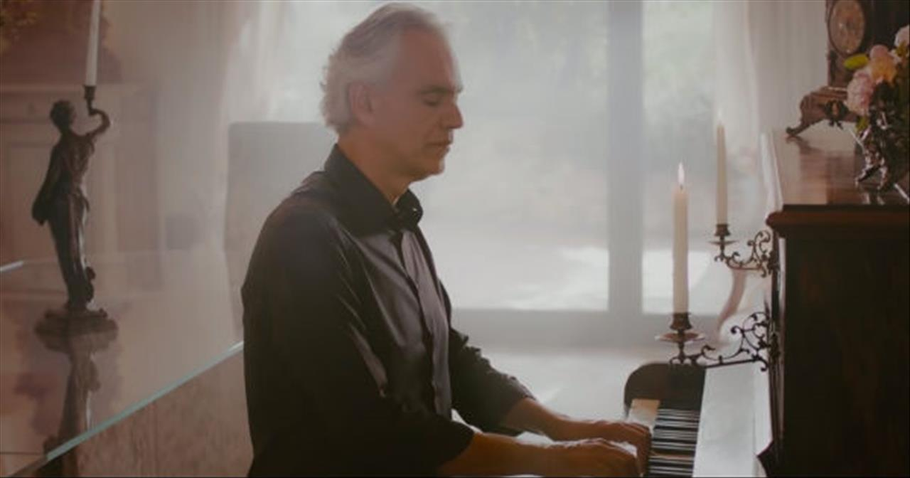 Andrea Bocelli And Cecilia Bartoli Perform 'Pianissimo'