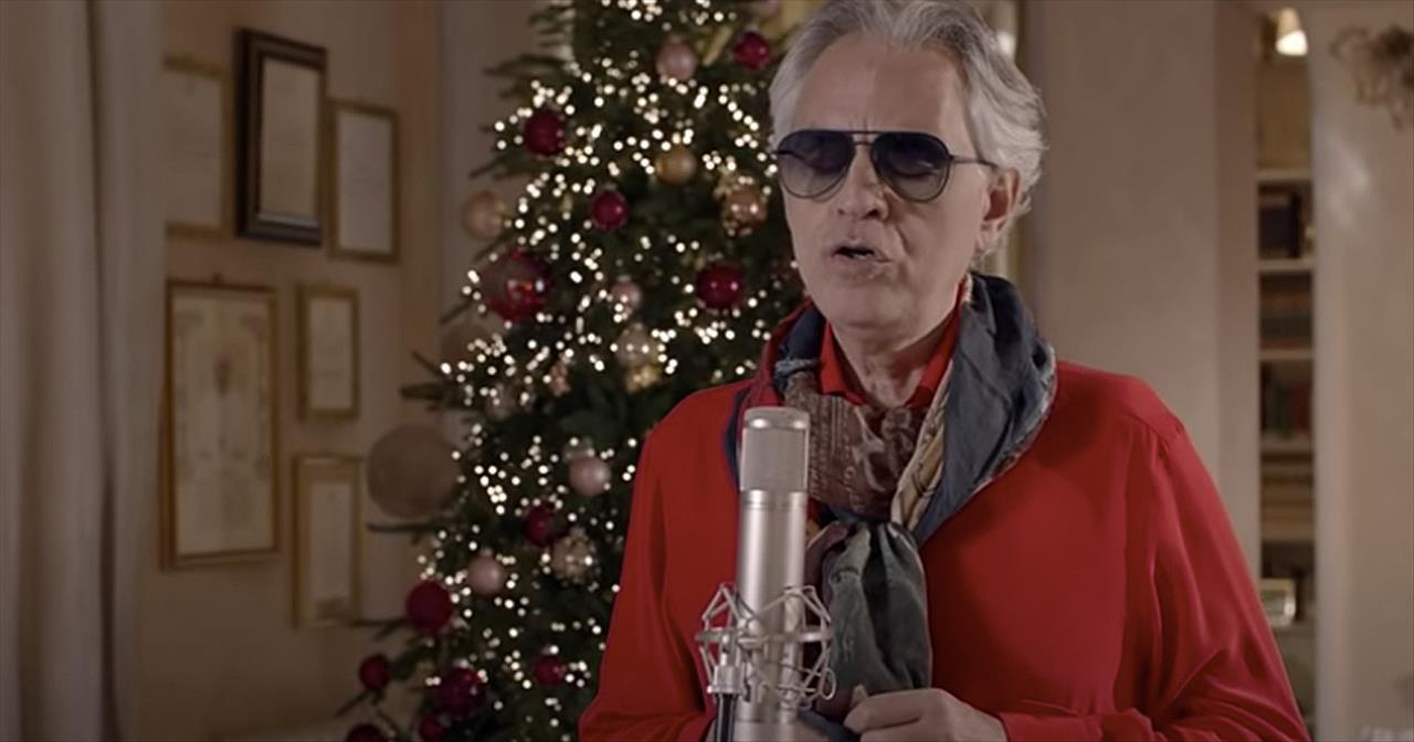 'Silent Night' Andrea Bocelli Christmas Hymn
