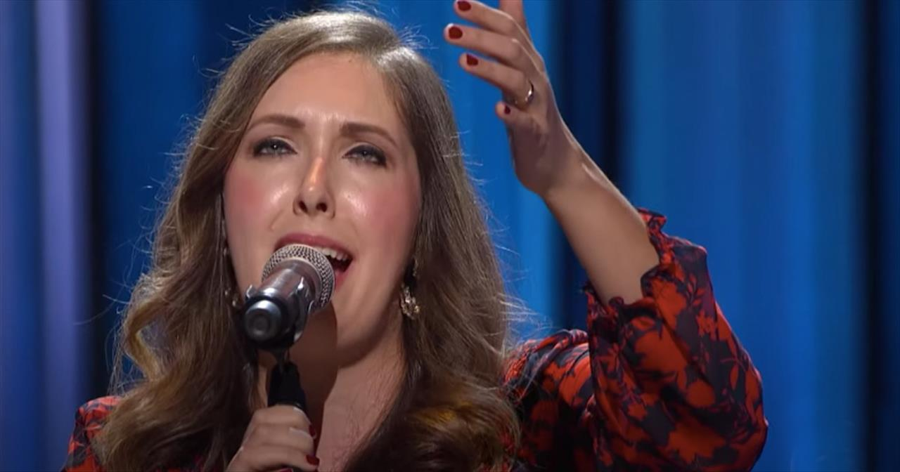 'Behold Him' Francesca Battistelli Live From Grand Ole Opry