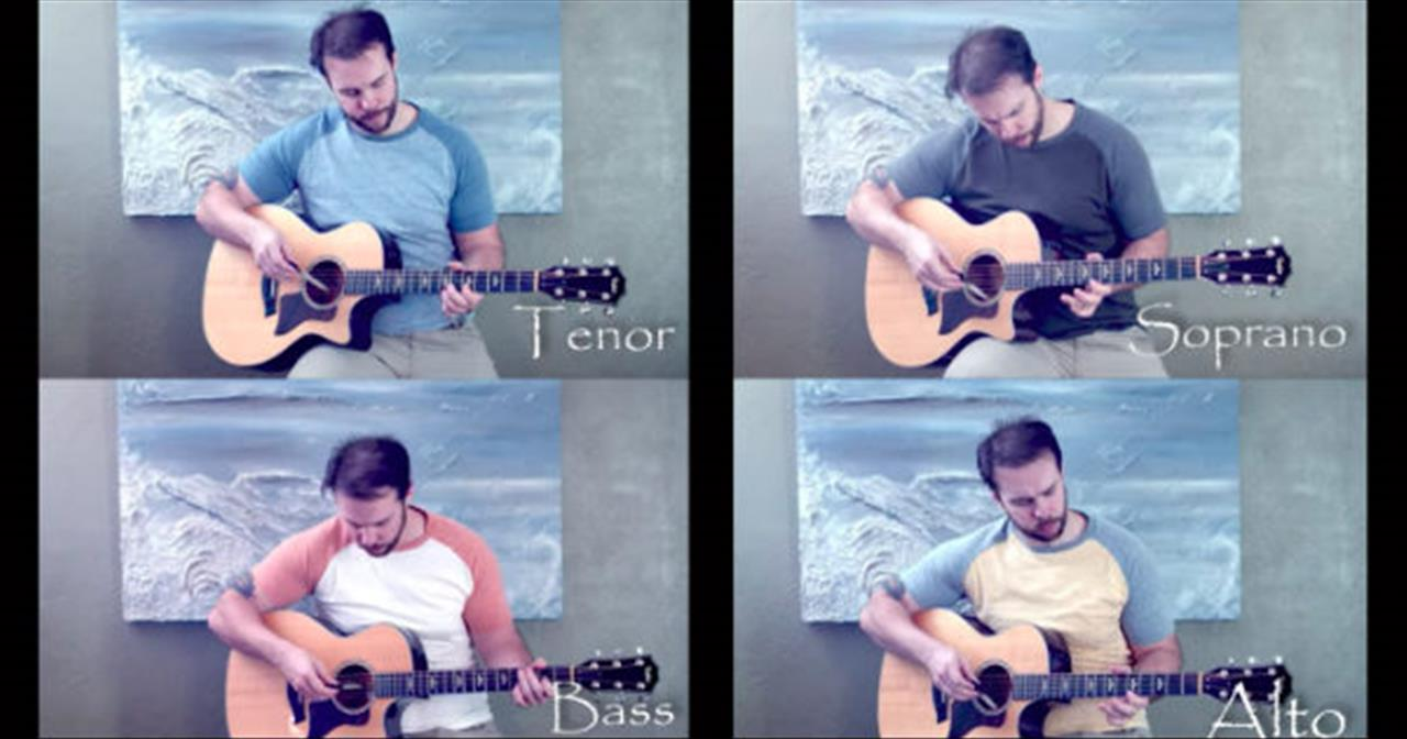 4 Dueling Guitars Play Unique Rendition Of 'Carol Of The Bells'