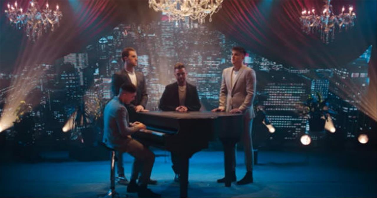 4 Men Of Anthem Lights Sing Frank Sinatra Medley
