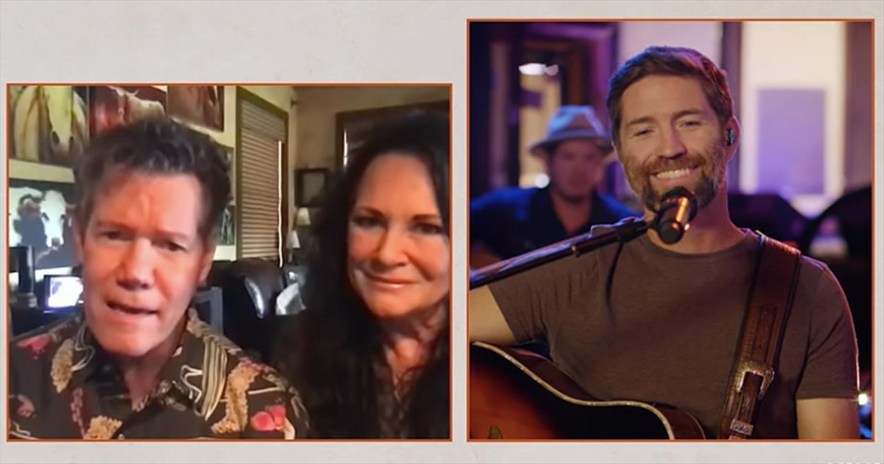 'Forever And Ever, Amen' Acoustic Josh Turner And Randy Travis Performance