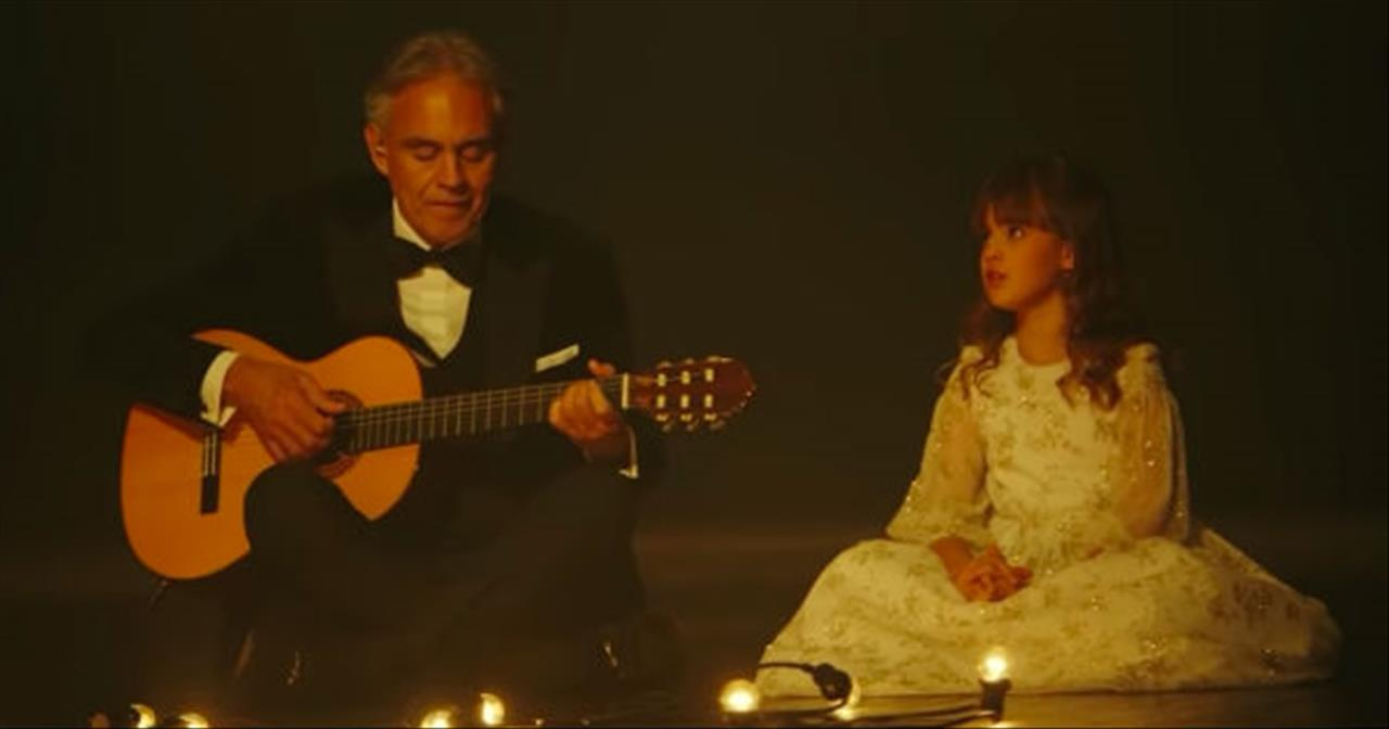 Andrea Bocelli And Daughter Sing 'Hallelujah' Duet