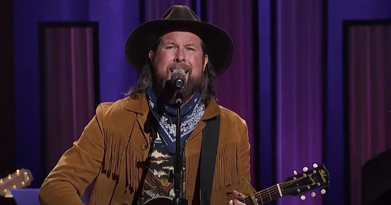 'Less Like Me' Zach Williams Performs At The Grand Ole Opry