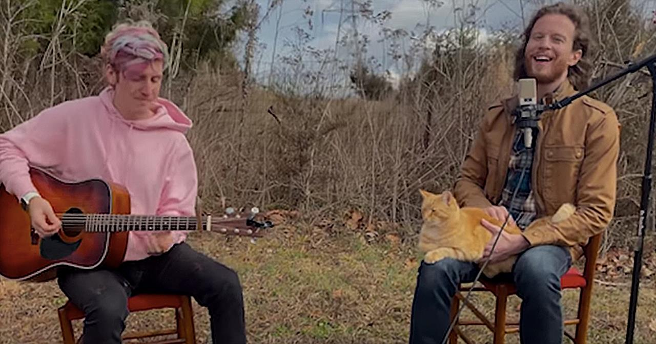 'Off The Grid' Acoustic Performance From Home Free's Austin Brown
