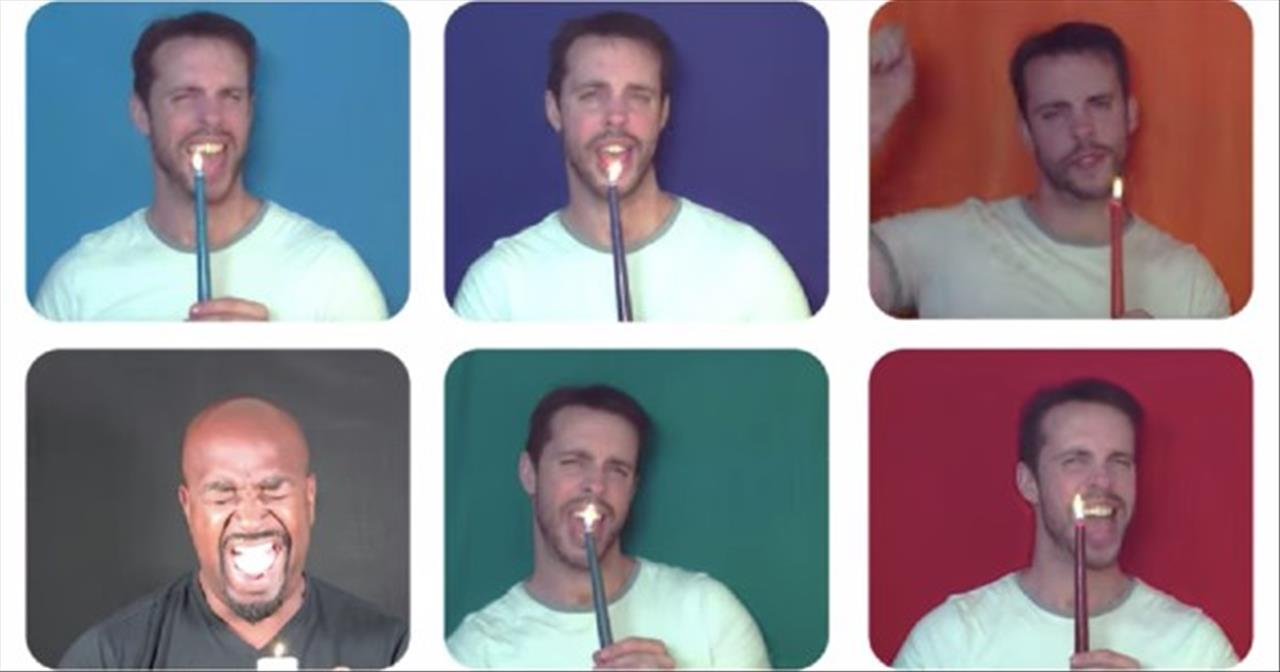 'This Little Light of Mine' A Cappella From Chris Rupp