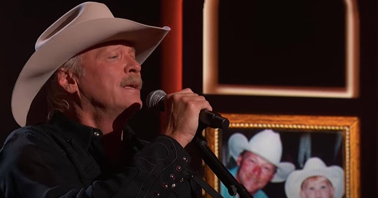 Alan Jackson Performs 'Drive/You'll Always Be My Baby' Medley At ACM Awards