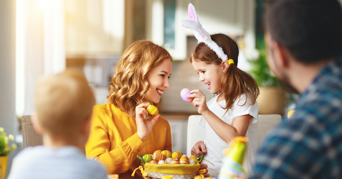 7. Plan an Egg Hunt