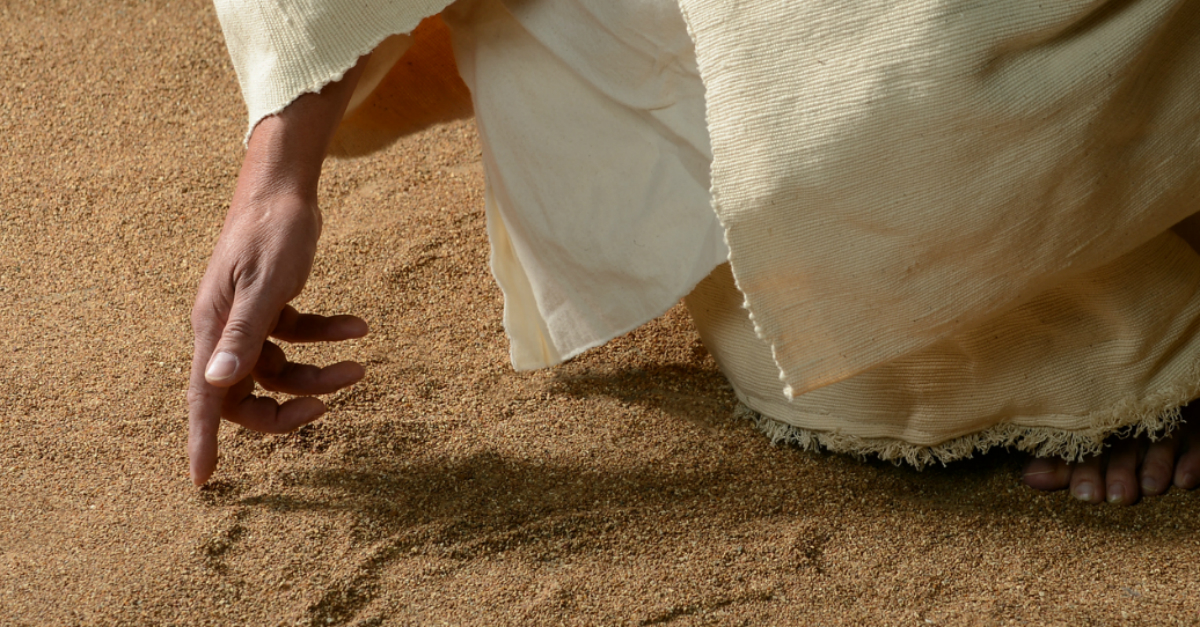 What Did Jesus Write on the Ground? - Bible Study