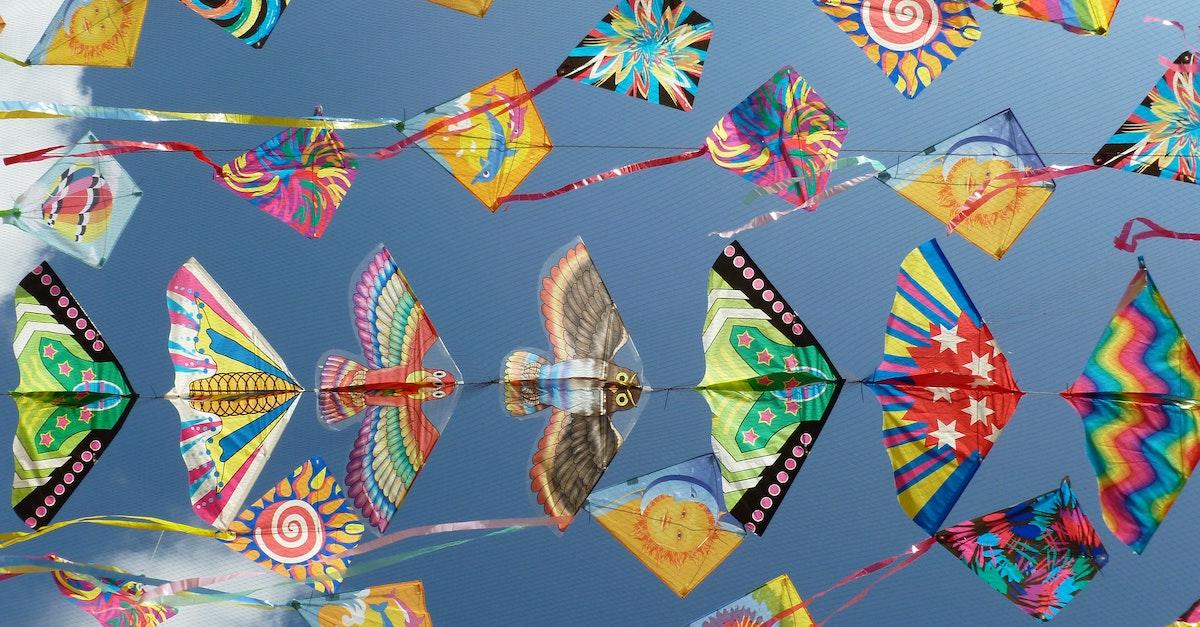 1. Flying Kites in Bermuda