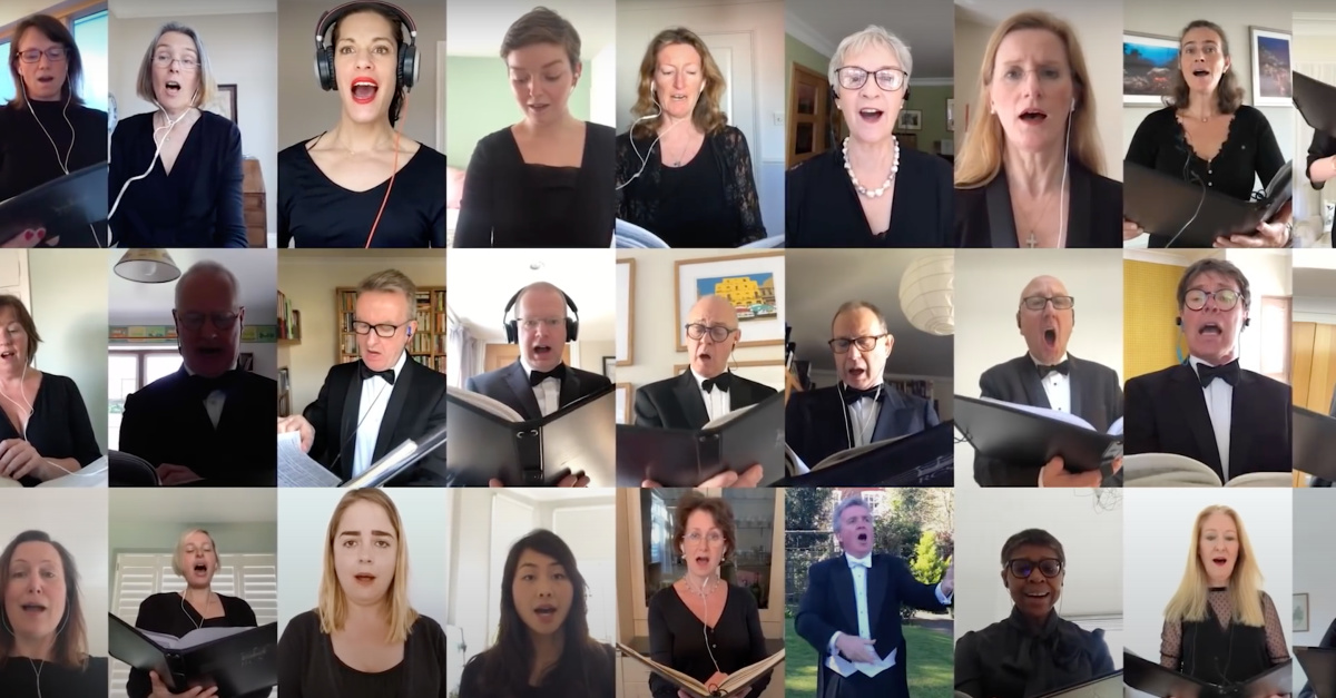 Virtual 'Hallelujah' Chorus Goes Viral, Keeps 144-Year-Old Tradition Alive