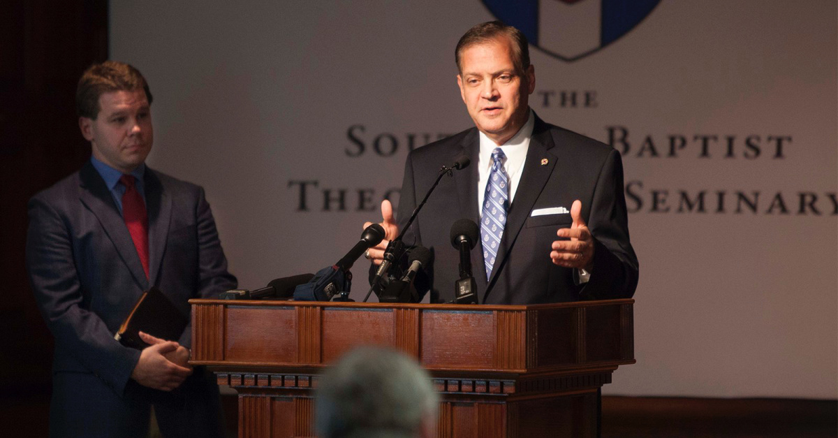 Albert Mohler Says He Will Be Voting for Trump