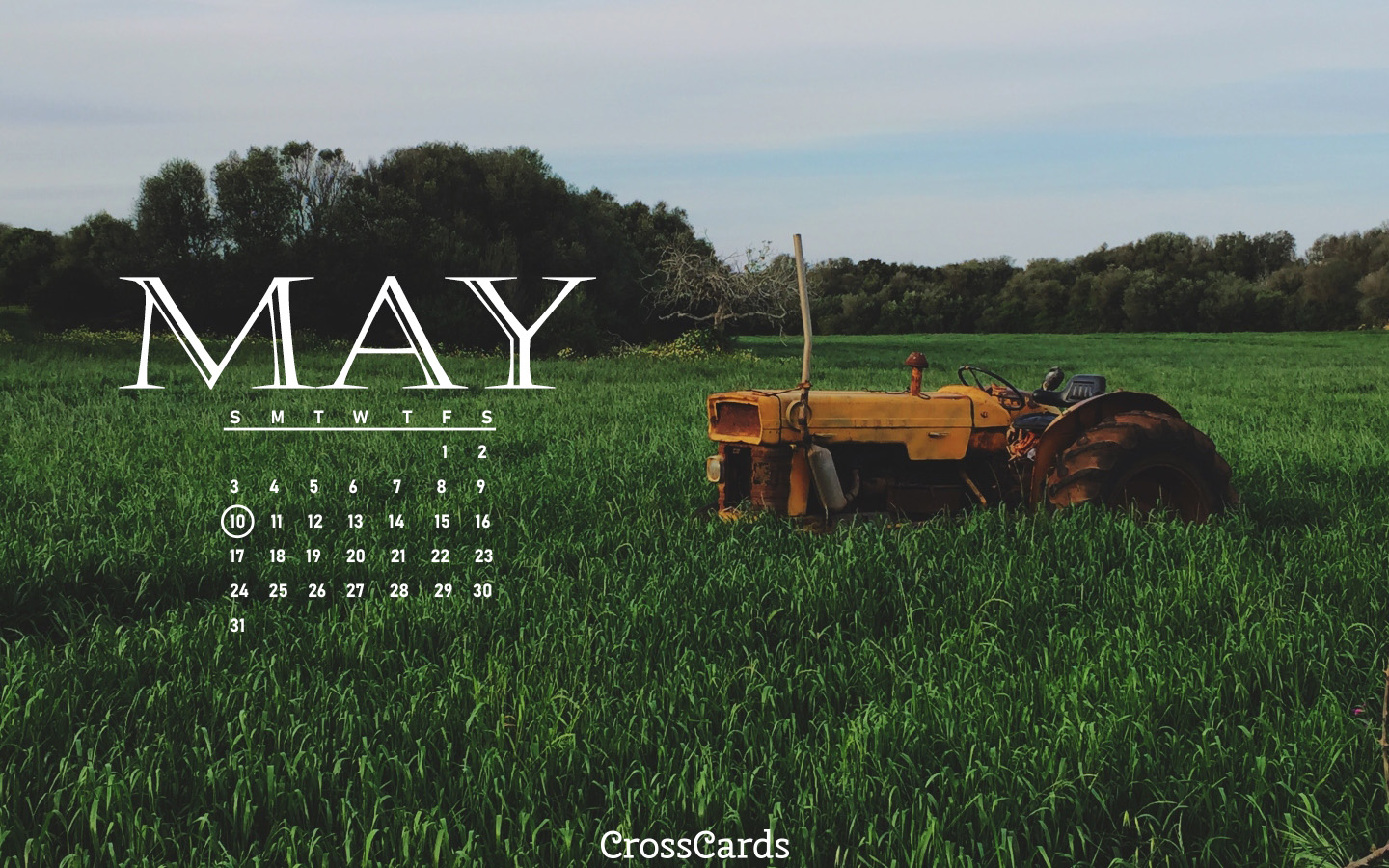 May 2020 - Farm mobile phone wallpaper