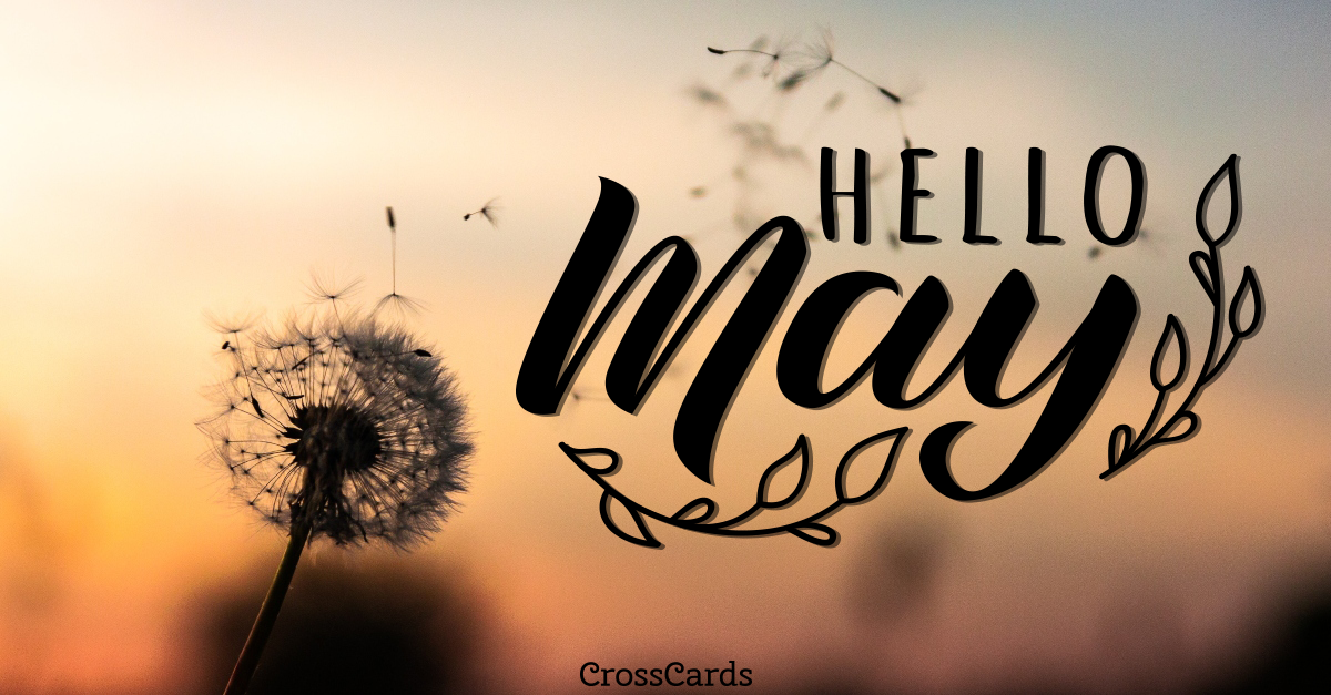 Welcome May! ecard, online card