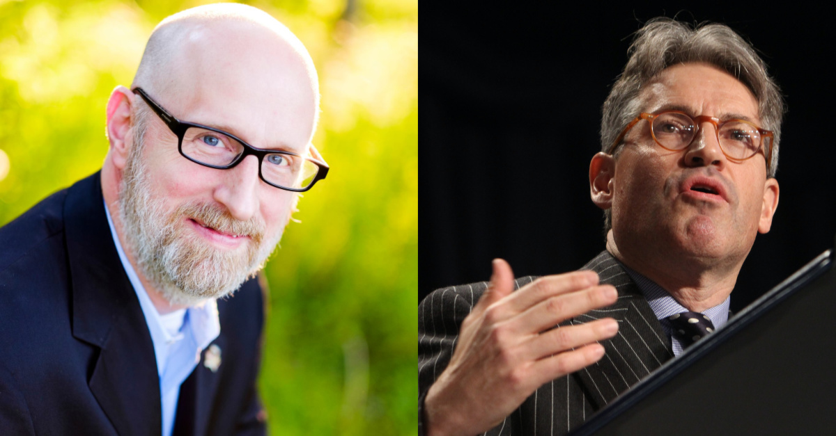 David French and Eric Metaxas, French and Metaxas debate Evangelical support for the President