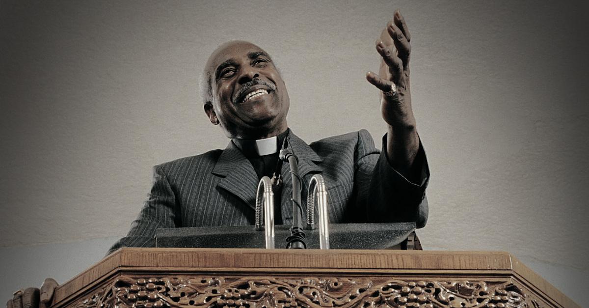 A preacher, 4 percent of sermons mention abortion