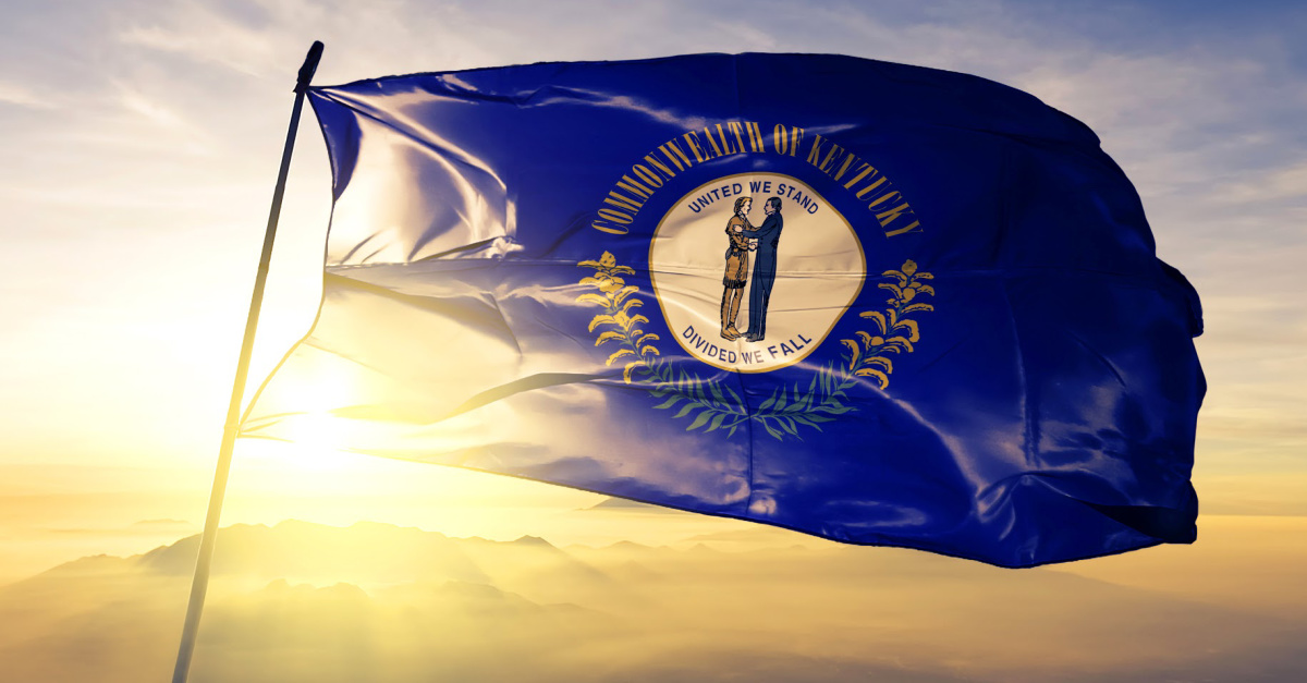 Kentucky Flag, Kentucky AG threatens to sue the governor for banning church services