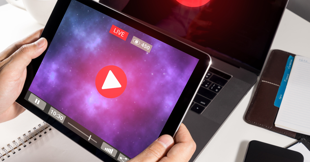 Live stream, worship in the age on the internet