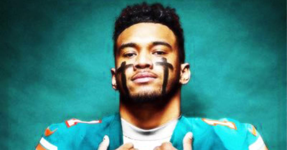 Tua Tagovailoa, Tua expresses his Christian faith as he reveals his new NFL number