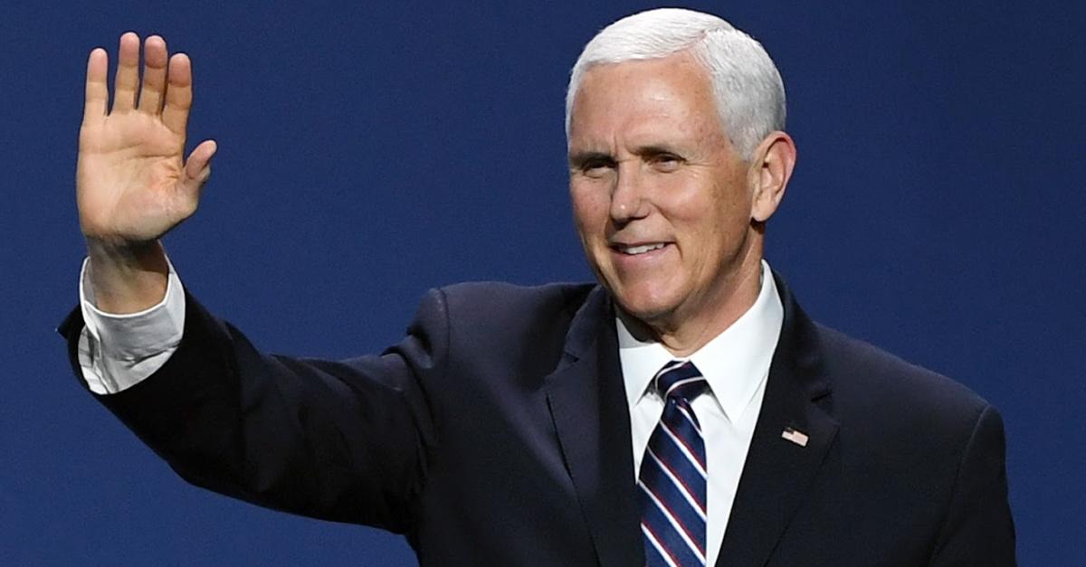 Pence Asks Americans to Pray that God Will 'Hear from Heaven' and 'Heal this Land'