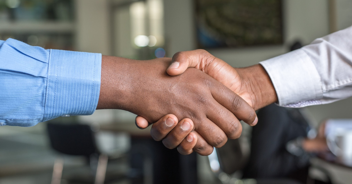 People shaking hands, The Best Way to Treat Every Person We Meet
