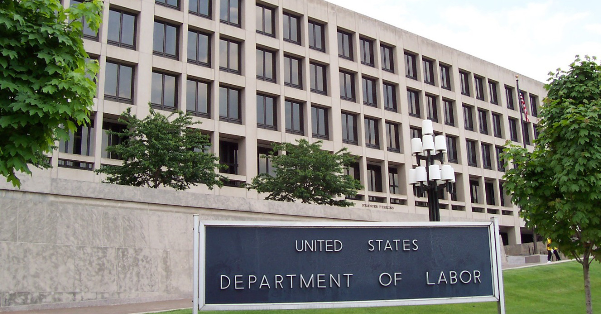 U.S. Department of Labor, Department of Labor strengthens religious liberty