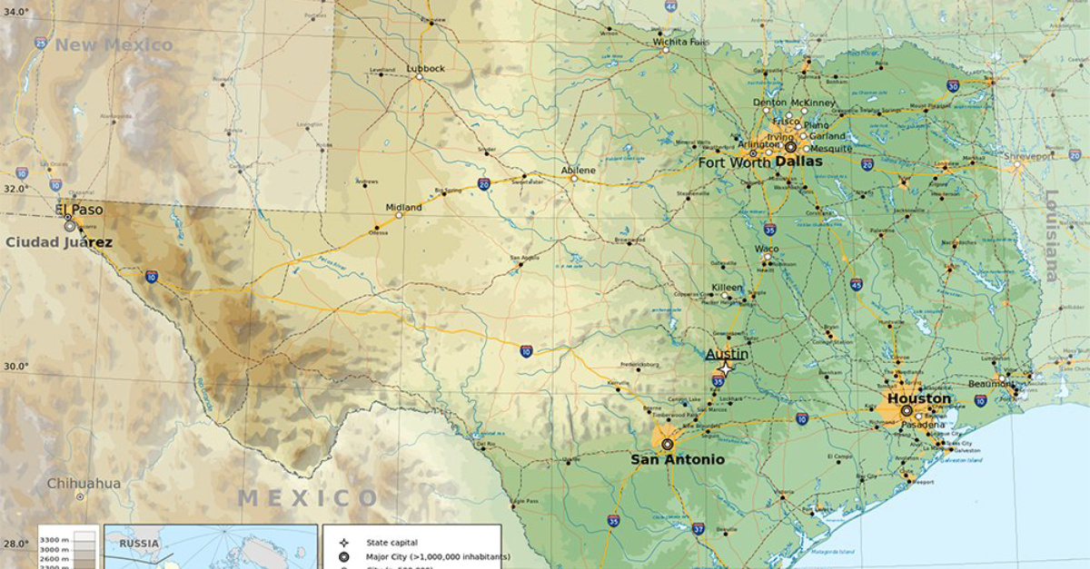 Texas Map, Breakaway Anglican group wins property fight