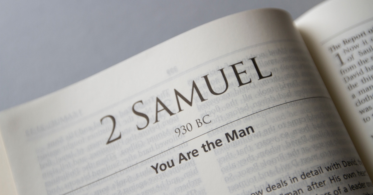The book of 2 Samuel