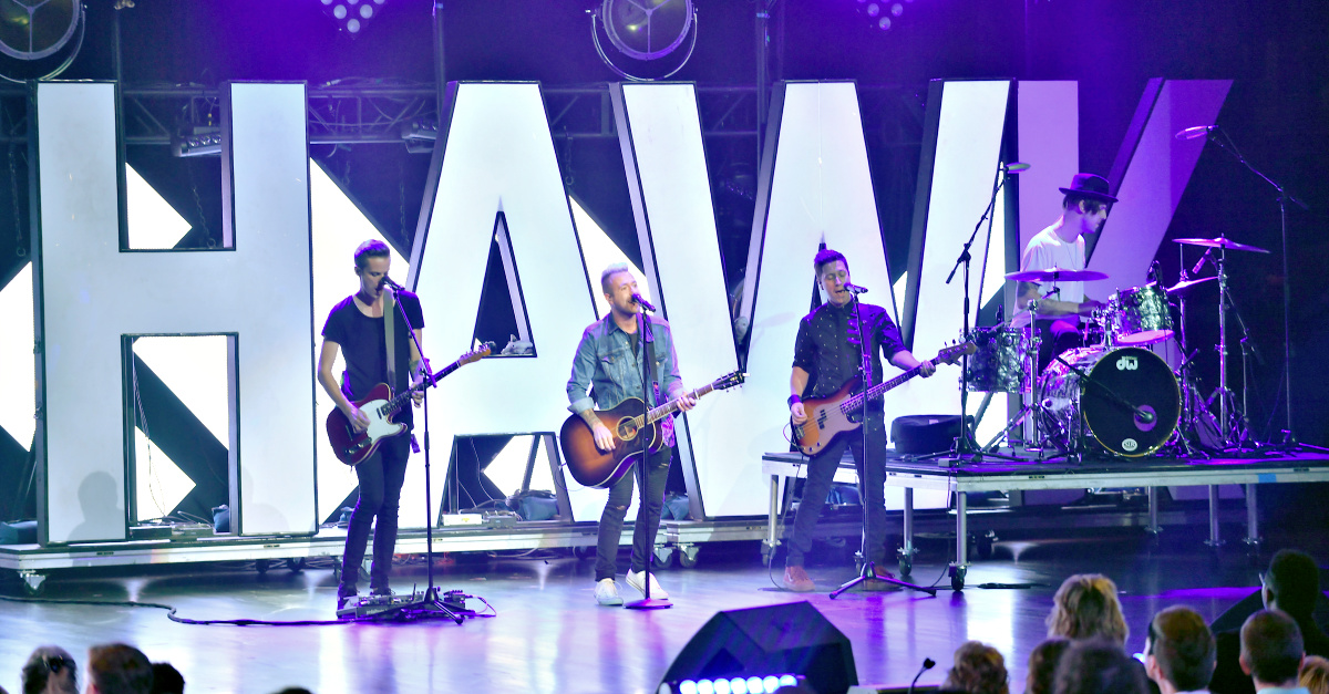 Hawk Nelson, Members of Hawk Nelson make a statement regarding Jon Steingard
