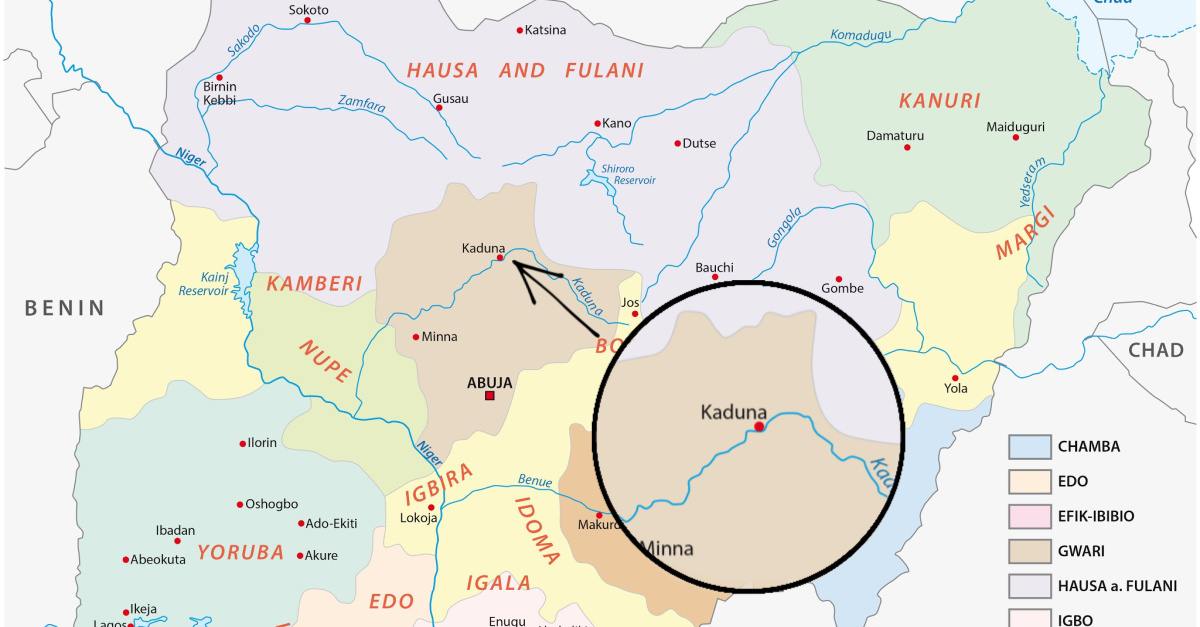 Kaunda state in Nigeria, Fulani herdsmen killed 5 Christians and destroyed 4 churches