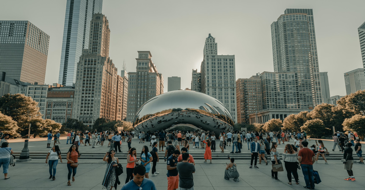 Chicago, Illinois is allowing churches to meet in person