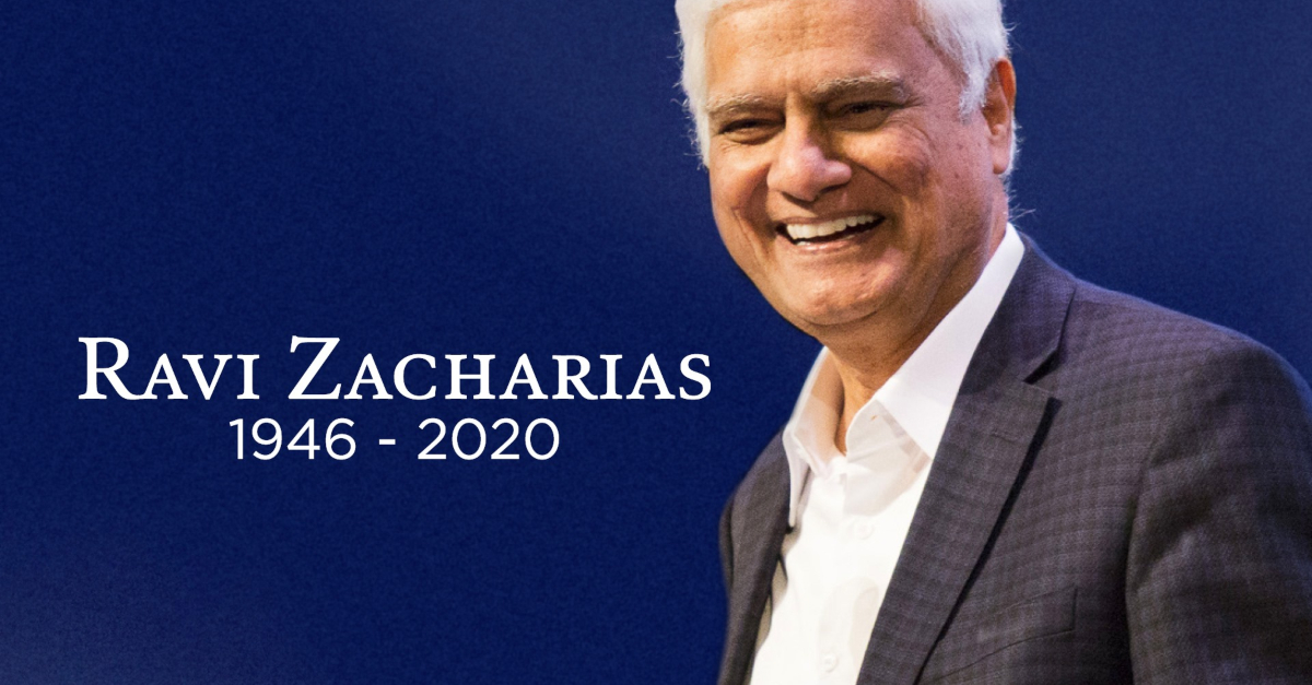 4 Significant Life Lessons from the Remarkable Ravi Zacharias