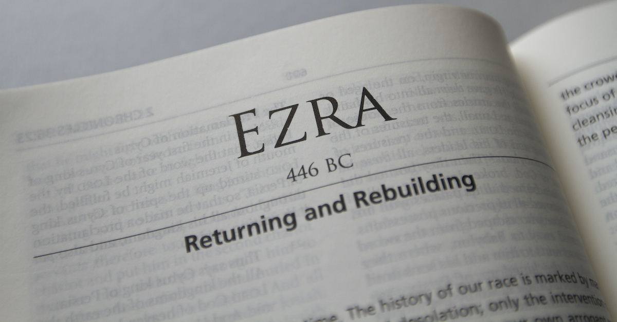 Ezra - Complete Bible Book Chapters and Summary - New International Version